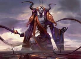 Erebos, God of Death by PeteMohrbacher