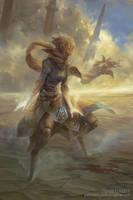 Suphlatus, Angel of Dust by PeteMohrbacher