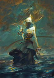 Kokabiel, Angel of the Stars by PeteMohrbacher