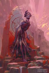 Armaros, Angel of Undoing by PeteMohrbacher