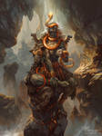 Turiel, Angel of the Mountain by PeteMohrbacher