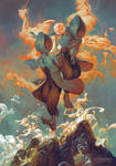 Sandalphon, Angel of New Life by PeteMohrbacher
