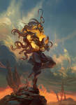 Verchiel, Angel of Leo by PeteMohrbacher