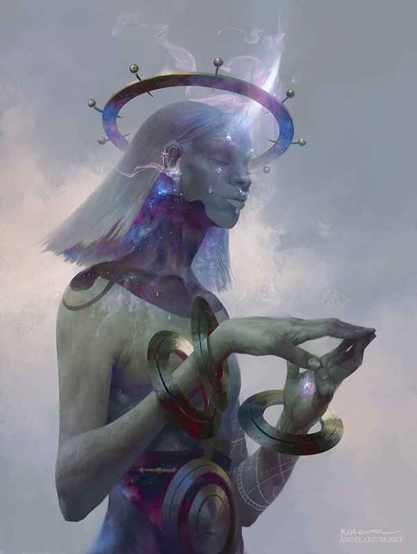 Kokabiel, the Burning Light by PeteMohrbacher