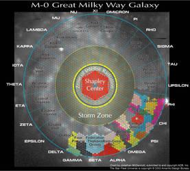 Star Fleet Battles - Galaxy Map by Caraig