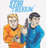 Star Trekkin' by Sanwall