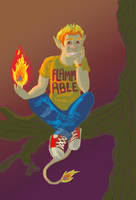 Flammable by Sanwall