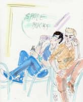 intergalactic hipster boyfriends by Sanwall