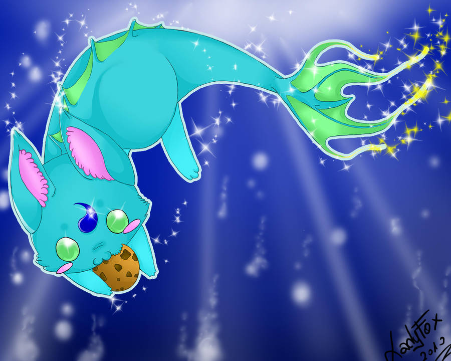 Water Critter Desktop-bg xD by Zusuriki
