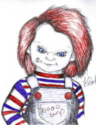 Charles Lee Ray(Chucky) by Taboochildsplay