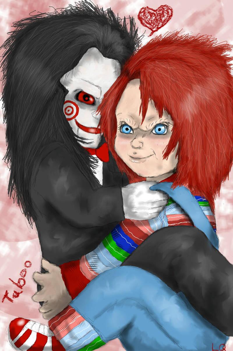 Chucky x Jigsaw by Taboochildsplay
