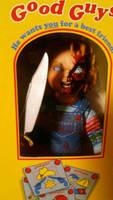 Smol Chucky in his box by Taboochildsplay