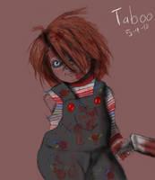 One Armed Chucky by Taboochildsplay