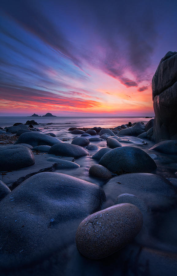 Cornish Twighlight by SevenHeptagons