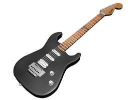 3D Guitar by xikinight