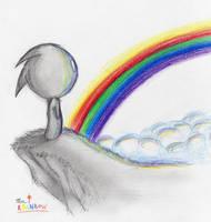 Rainbow Shy Guy by Chaosty