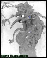 Freak Tree Ghost SR Monster by Chaosty