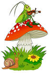 Little Musician  Clipart by MisterBug
