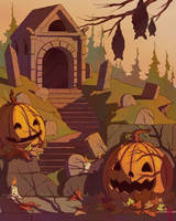 Creepy Crypt by maxman58