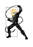 Ghost Rider by SpideyCreed