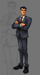 Le Garde Republicain - Character Design Color 4 by SpideyCreed