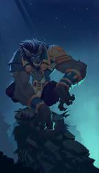 Genn Greymane by SpideyCreed