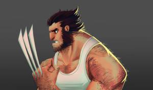 Wolverine ! by SpideyCreed