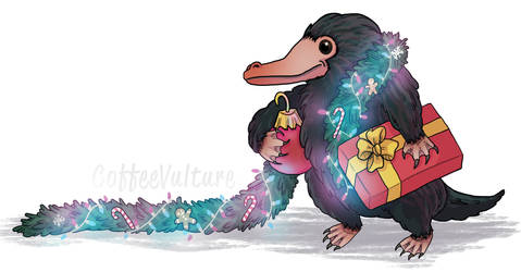 How The Niffler Stole Christmas! by CoffeeVulture