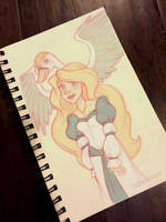The Swan Princess (Sketch) Day 34 by CoffeeVulture
