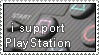 i support PlayStation stamp by AHMED-ART