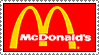 Mcdonalds Stamp by AHMED-ART