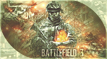 BATTLEFIELD 3 sig by AHMED-ART