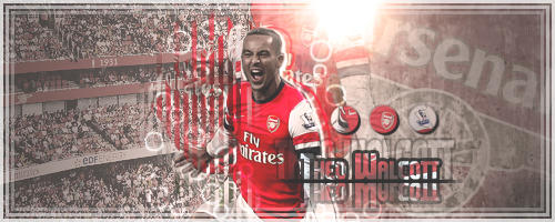 Theo Walcott . by AHMED-ART