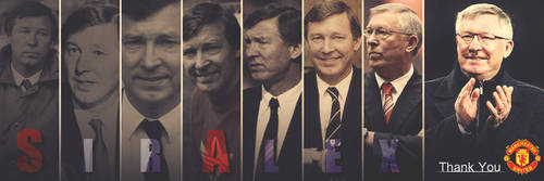 Sir Alex Ferguson by AHMED-ART