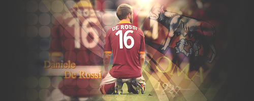 Daniele De Rossi. by AHMED-ART