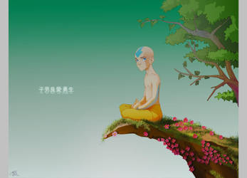 Aang - Learn to let it go by patronustrip