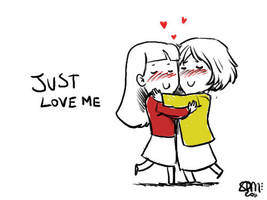 Faberry Chibi Just Love Me by patronustrip