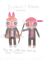 Blossom and Brick: Hunger Games by CutiePantherEmi-chan
