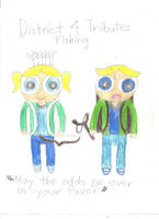 Boomer and Bubbles: Hunger Games by CutiePantherEmi-chan