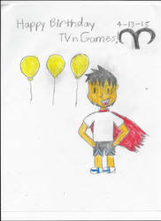 Happy Birthday TVnGames 2015 by CutiePantherEmi-chan