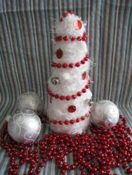 DIY Christmas Tree by MermaidsNLattes