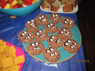 Star Wars Wookie Cookies by MermaidsNLattes
