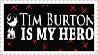 Tim Burton Stamp by XUsagi-Chan