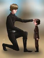 Uncle Skywalker by Jordanoff