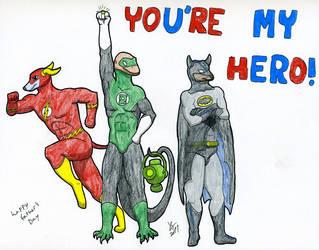 Heroes by wyrmaster
