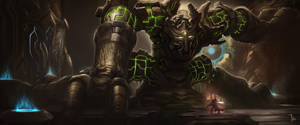Stone Golem Boss by LeeJJ