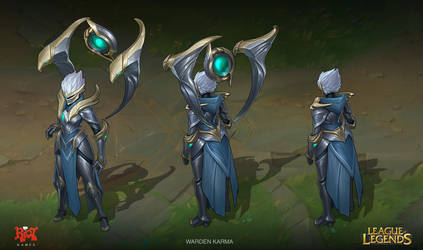 Warden Karma Concept by LeeJJ