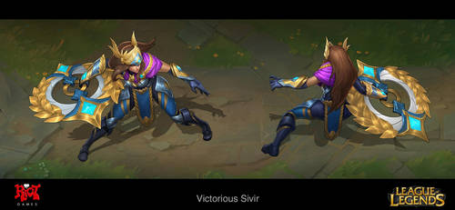 Victorious Sivir Concept by LeeJJ