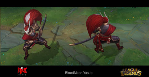 BloodMoon Yasuo Concept by LeeJJ