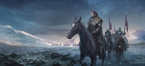 KnightsInSnow by LeeJJ